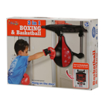 Picture of King Sport Set Of 2 in 1 Basketball and Boxing