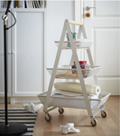 Picture of IKEA RISATORP Trolley, White, 57x39x86 cm