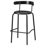 Picture of IKEA YNGVAR Bar Stool, Anthracite, 75 cm