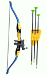 Picture of Archery Set Bow And Arrow Toy Fire Arrows Series
