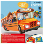 Picture of Kid's Board Game Toy Guess Who Is On The Bus