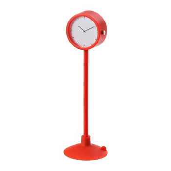 Picture of IKEA STAKIG Clock, Red, 16.5 cm