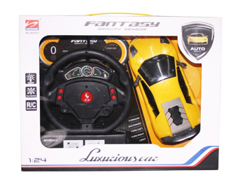 Picture of Remote Control Rechargeable Gravity Sensor R/C Toy Car