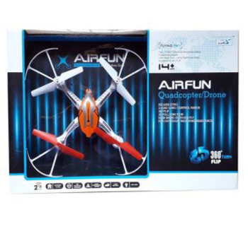 Picture of 2.4G 6-Axis Gyro Airfun Quad-copter
