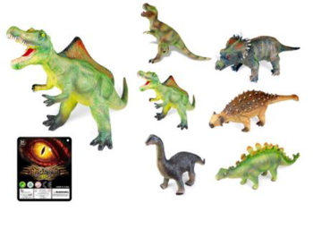 Picture of Soft Plastic Dinosaurs Electric Sound IC without Language With battery
