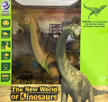 Picture of The New World Of Dinosaurs Remote Control