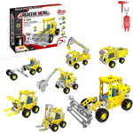 Picture of Alloy Engineering Vehicle Building Block Toys