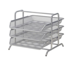 Picture of IKEA DOKUMENT Letter Tray Silver Colour