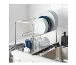 Picture of IKEA ORDNING Dish Drainer Stainless Steel 50x27x36 cm