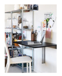 Picture of IKEA BJURSTA Wall Mounted Drop Leaf Table Brown Black 90x50 cm