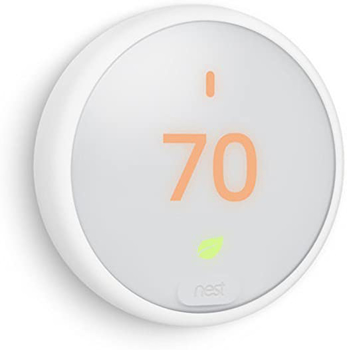 Nest  Learning  Thermostat  E Pro  in  White