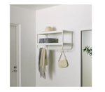 Picture of IKEA MACKAPÄR Hat And Coat Rack  White 78 cm