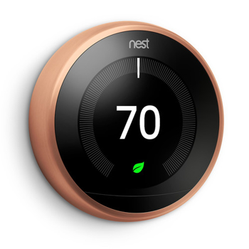 Nest Learning  Thermostat  3rd  Generation in Copper