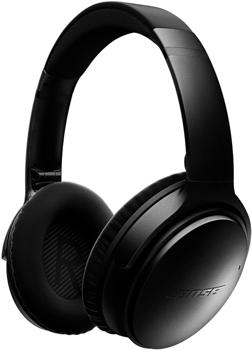 BOSE HEADPHONE WIRELESS NOISE CANCELLING in BLACK
