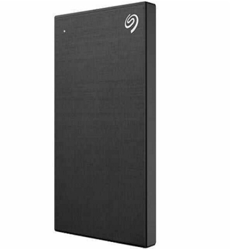 SEAGATE HARD  DRIVE ONE TOUCH PORTABLE in BLACK