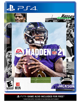 ELECTRONIC ARTS VIDEO GAME NFL 21