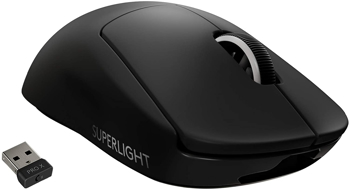 LOGITECH PRO X SUPERLIGHT  GAMING MOUSE  in  BLACK