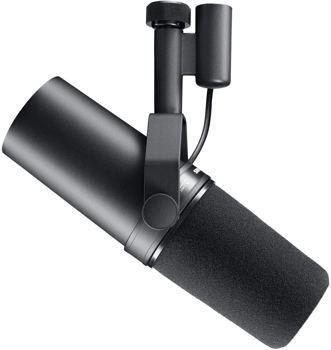 SHURE  CARDIOID DYNAMIC  VOCAL MICROPHONE   in  BLACK