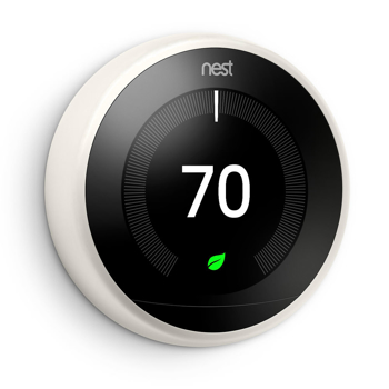 Nest  Learning Thermostat 3rd   in  White
