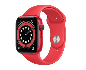 Apple Series  6 Smart Watch  in  Product Red