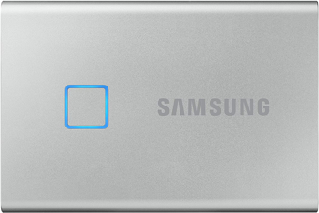 SAMSUNG SSD T7 TOUCH PORTABLE   in   SILVER