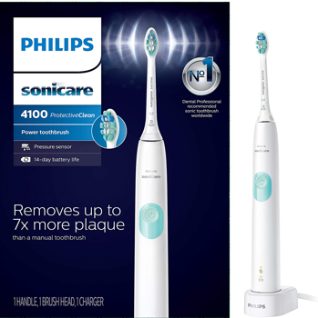 PHILIPS TOOTHBRUSH SONICARE  PROTECTIVE 4100  in WHITE / MINT