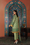 Picture of NISHAT 42101148-Digital Embroidered Printed Super Fine Lawn, Gold Net & Dyed Cambric- 3pc
