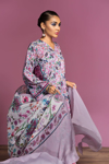 Picture of NISHAT 42001079-Digital Printed Lawn, Grip Chiffon & Cambric-3pc