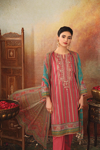Picture of Nishat 42101122-Embroidered Printed Super Fine Lawn, Crinkle Chiffon & Cambric-3pc