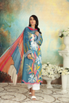 Picture of NISHAT 42101163-Printed Super Fine Lawn & Crinkle Chiffon-2pc