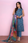 Picture of NISHAT 42001204-Embroidered Dyed Super Fine Lawn,Voil & Cambric-3pc