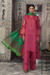 Picture of NISHAT 42101119-Dyed Super Fine Lawn, Yarn & Dyed Cambric- 3pc