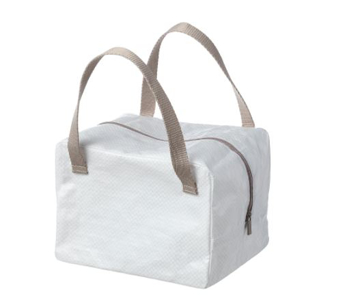 Picture of IKEA 365+ Lunch Bag, White/Beige 22x17x16 cm