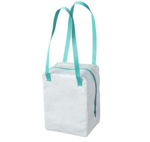 Picture of IKEA 365+ Lunch Bag, White/Turquoise 22x17x30 cm