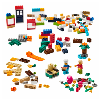Picture of IKEA BYGGLEK 201-piece LEGO Brick Set, Mixed Colours