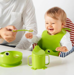 Picture of IKEA MATA 4-piece Eating Set, Green