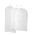 Picture of IKEA PLURING Clothes Cover, Set of 3, Transparent White