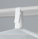 Picture of IKEA SLIBB Hanging Dryer, 2 Levels, Mesh/White