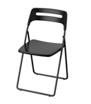 Picture of IKEA NISSE Folding Chair, Black