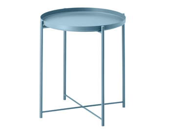 Picture of IKEA GLADOM Tray Table, 45×53 cm- Blue