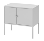 Picture of IKEA LIXHULT Cabinet, Metal/Grey 60×35 cm