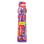 Picture of Colgate Kids Extra Soft Toothbrush with Suction Cup- 4 Count (Trolls)