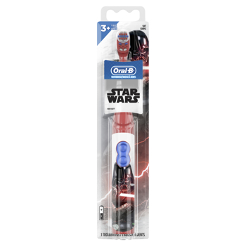 Picture of Oral-B Disney Star Wars Kids Battery Toothbrush, Extra Soft Bristles