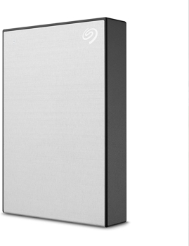 SEAGATE HARD  DRIVE ONE TOUCHPORTABLE    in   SILVER