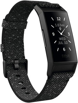 FITBIT ACTIVITY TRACKER CHARGE 4 SPECIAL EDITION    in   GRANITE REFLECTIVE WOVEN