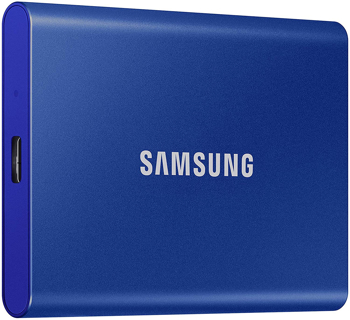 SAMSUNG SSD T7 PORTABLE   in   BLUE