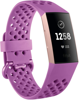 FITBIT ACTIVITYTRACKER CHARGE 3    in   BERRY / ROSE GOLD