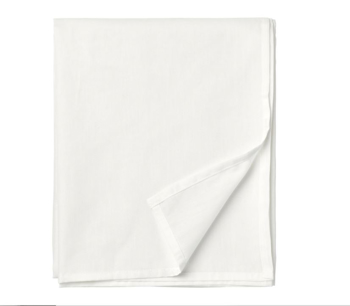 Picture of IKEA TAGGVALLMO Sheet, White -150x250cm