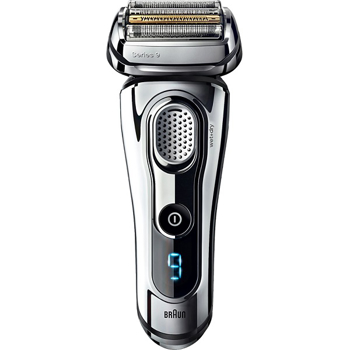 BRAUN SERIES 9 ELECTRIC FOILSHAVER    in    CHROME