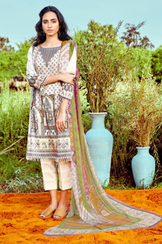 Picture of MOTIFZ 2888-Tribal-Charm Digital Printed Lawn Unstitched